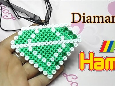 Diamante con Hama Beads✧Diamond with Perler Beads Tutorial ✧