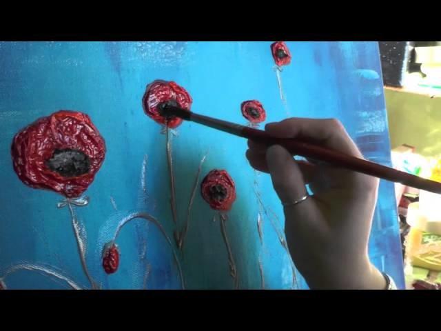 "Tutorial ""Papaveri"" - Parte terza e ultima - How to make poppies 3 - Demo"
