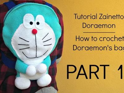 Tutorial zainetto Doraemon | HOW TO CROCHET DORAEMON'S BAG - Part 1