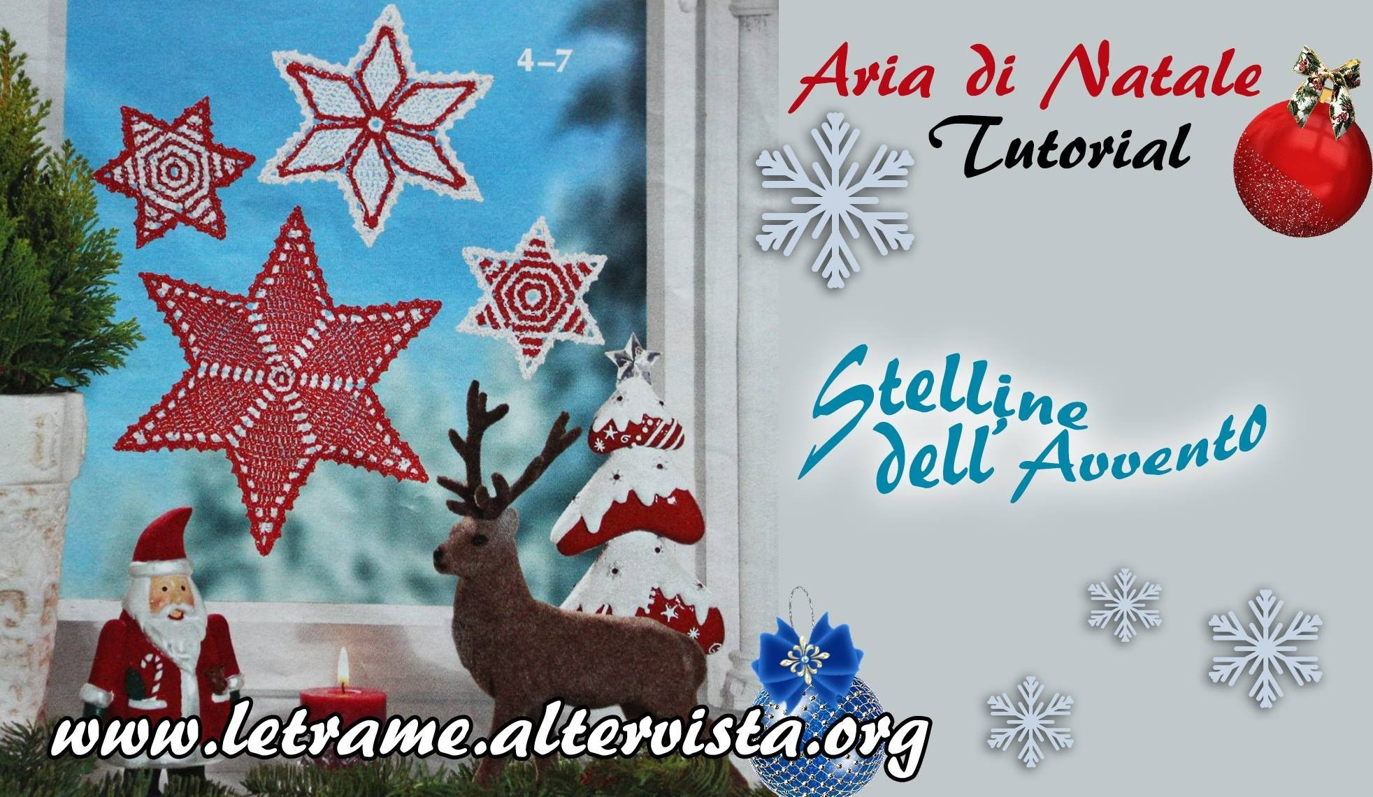 Tutorial Stella natalizia all' uncinetto (crochet) 1.2