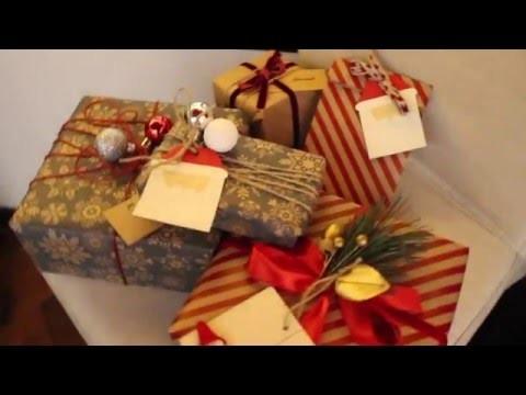 DIY: incartare i regali - CHISTMAS edition
