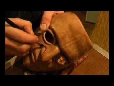 Costruzione Maschera in cuoio