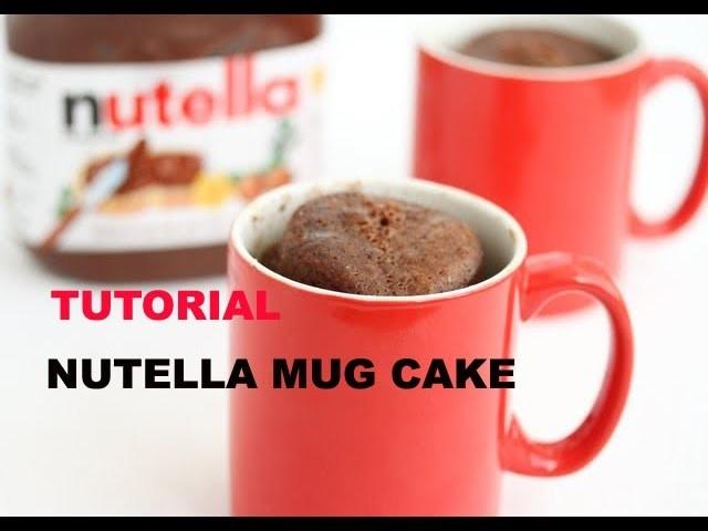 Diy Tutorial: Nutella Mug cake recipe! #8