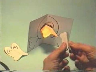 How to make: the little duck's pop-up card