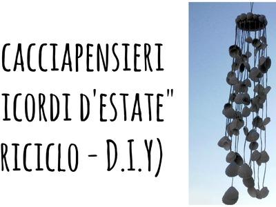 "Scacciapensieri ""Ricordi d'Estate"" (Riciclo.D.I.Y) - Arte per Te"