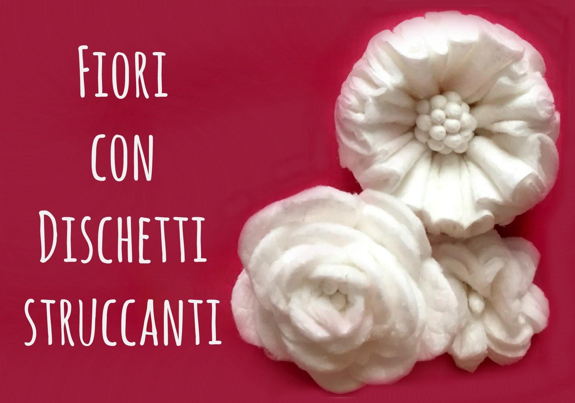 How to Fiori con Dischetti Struccanti e CottonFioc( Riciclo e creatività) Arte per Te