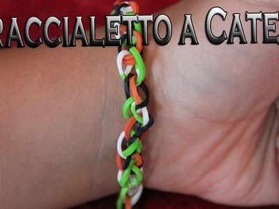 Rainbow Loom® Single Chain Bracelet
