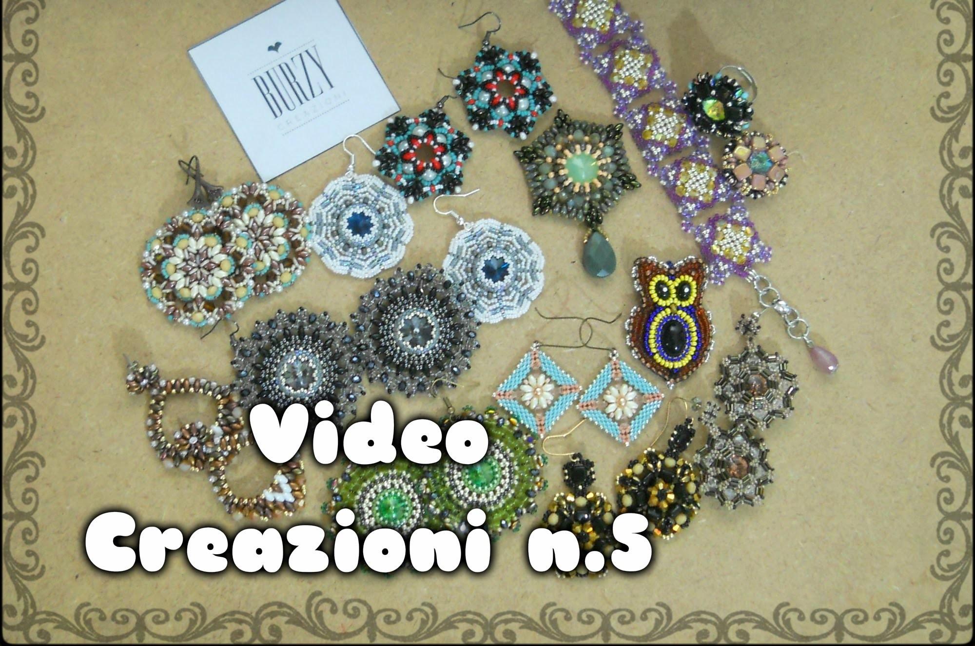 Video Creazioni #5 Orecchini Bracciali Ciondoli handmade BURZY perline Bijoux