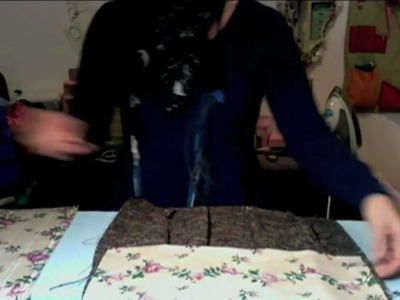 Come realizzare una borsa in tessuto ^_^