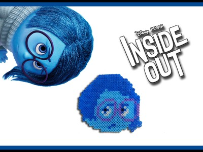 TRISTEZZA di Inside Out con HAMA BEADS - DIY Tutorial Sadness Charm