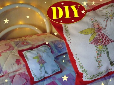Tutorial: Come cucire un Cuscino per le Feste | DIY How to create a cushion for Holidays
