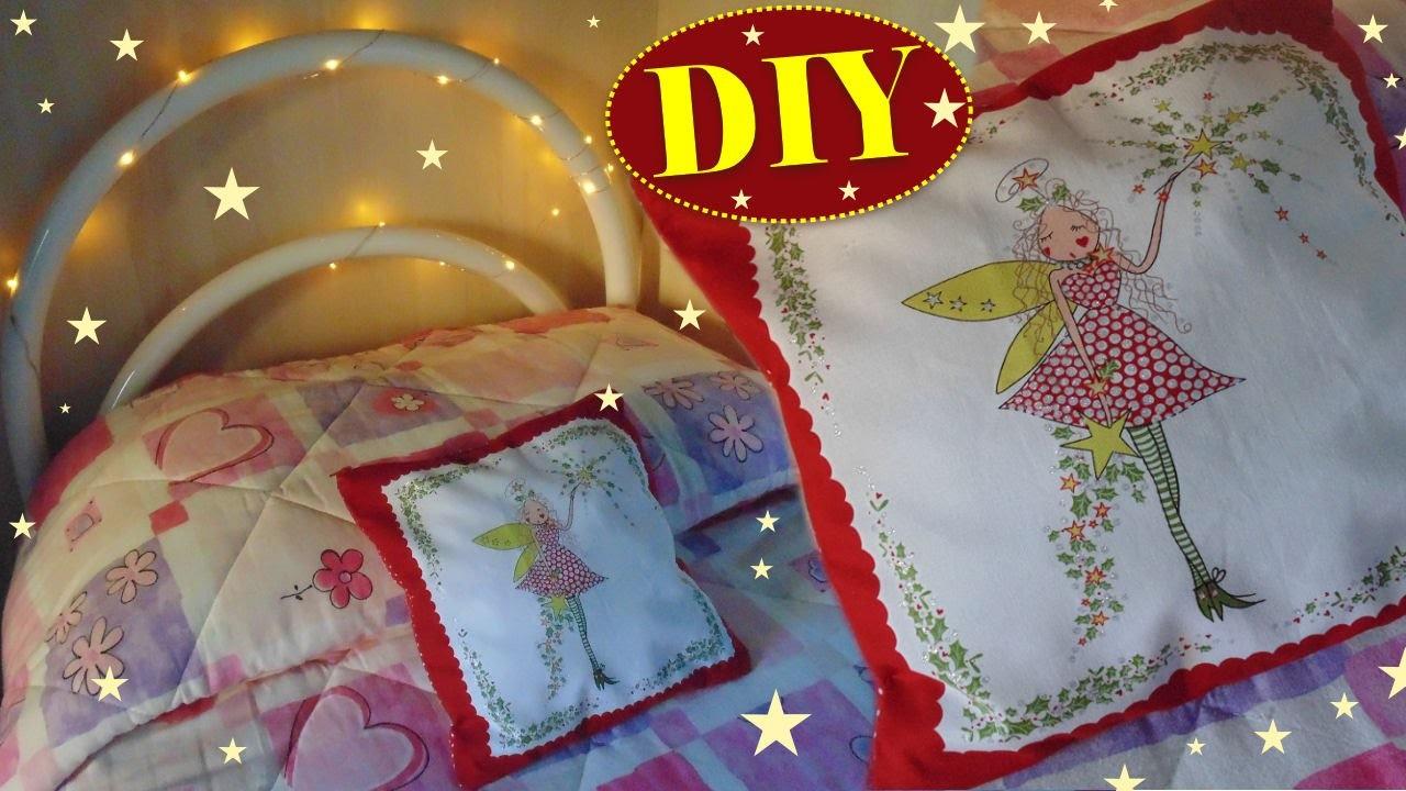 Tutorial: Come cucire un Cuscino per le Feste | DIY How to create a cushion for Holidays