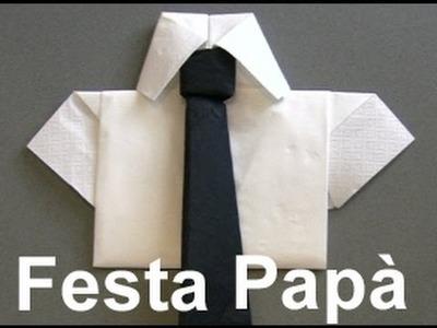 Festa del papà : creare un tovagliolo semplice - Utilities