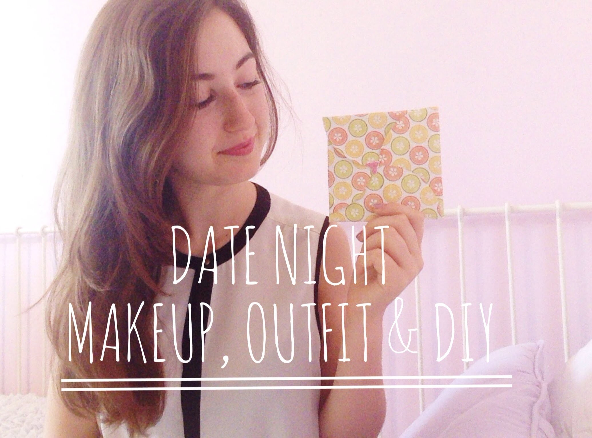 Romantic Date Night Makeup, Outfit & DIY♡ | itsLucretia