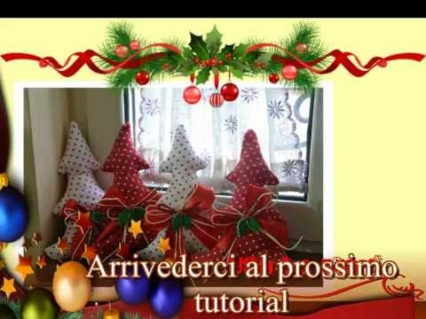 Tutorial Natale: cucito creativo Albero di Natale. creative sewing Christmas tree