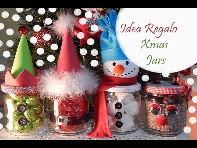 DIY: IDEA REGALO Christmas Jars||Collaborazione con Delya Magnifique