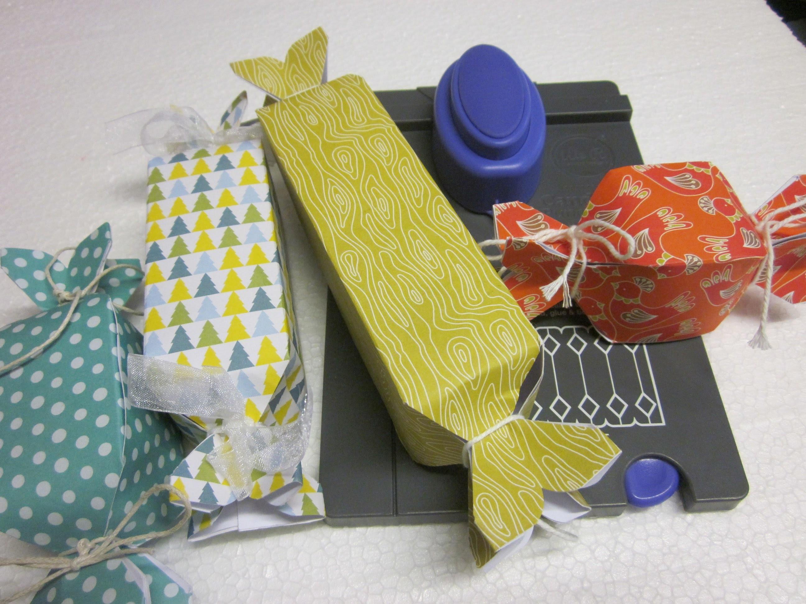 Video tutorial DIY scatola a caramella