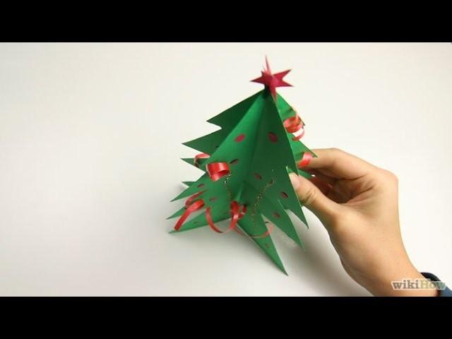 Come fare albero di Natale di carta - DIY | Albero di Natale Origami Facile