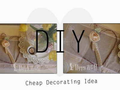 Come riutilizzare una GRUCCIA DIY: Cheap Decoration Idea ❤