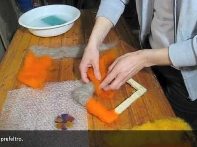 Come fare una cornice in feltro