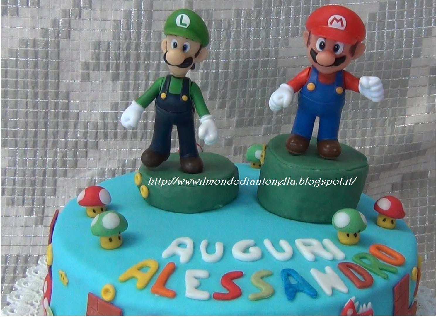 Tutorial Torta Super Mario , Super Mario  Birthday Cake & Fondant Tutorial