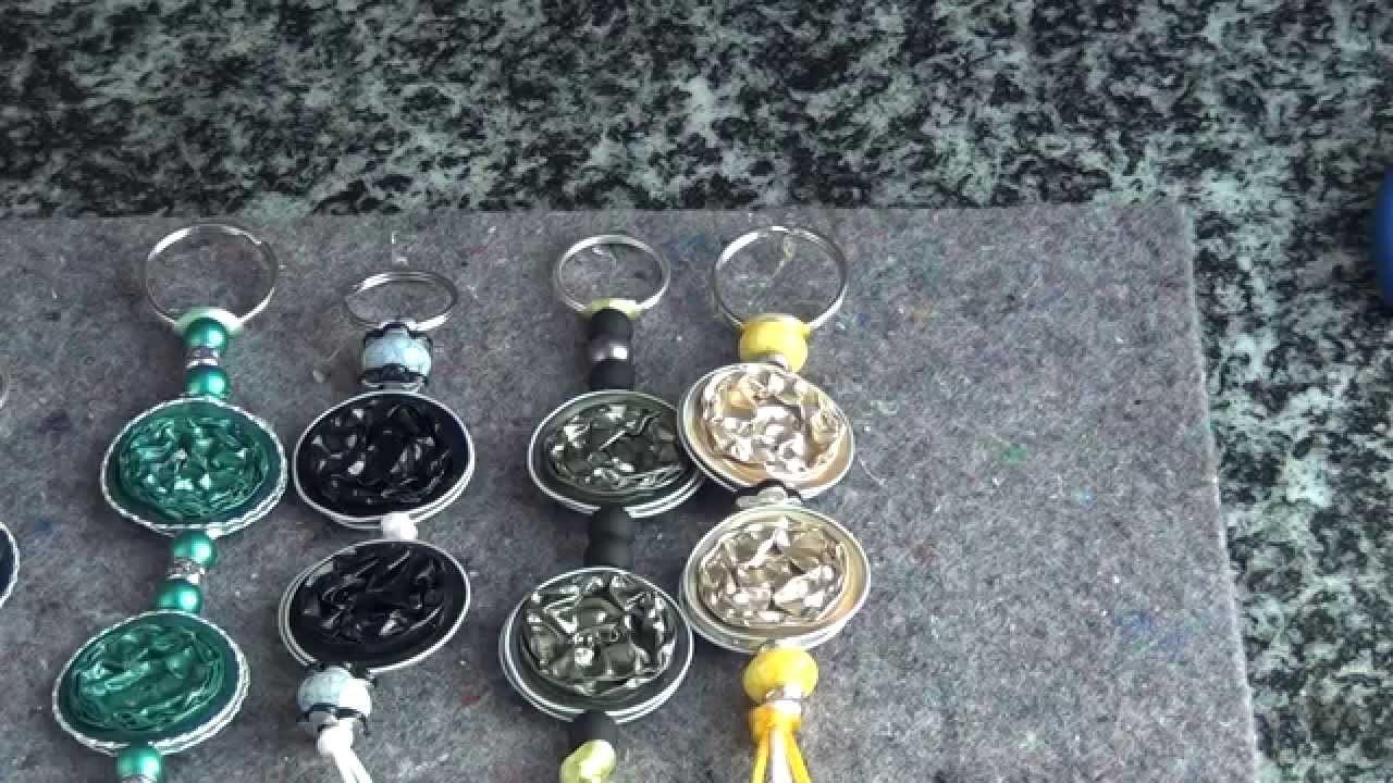 DIY Portachiavi con cialde Nespresso