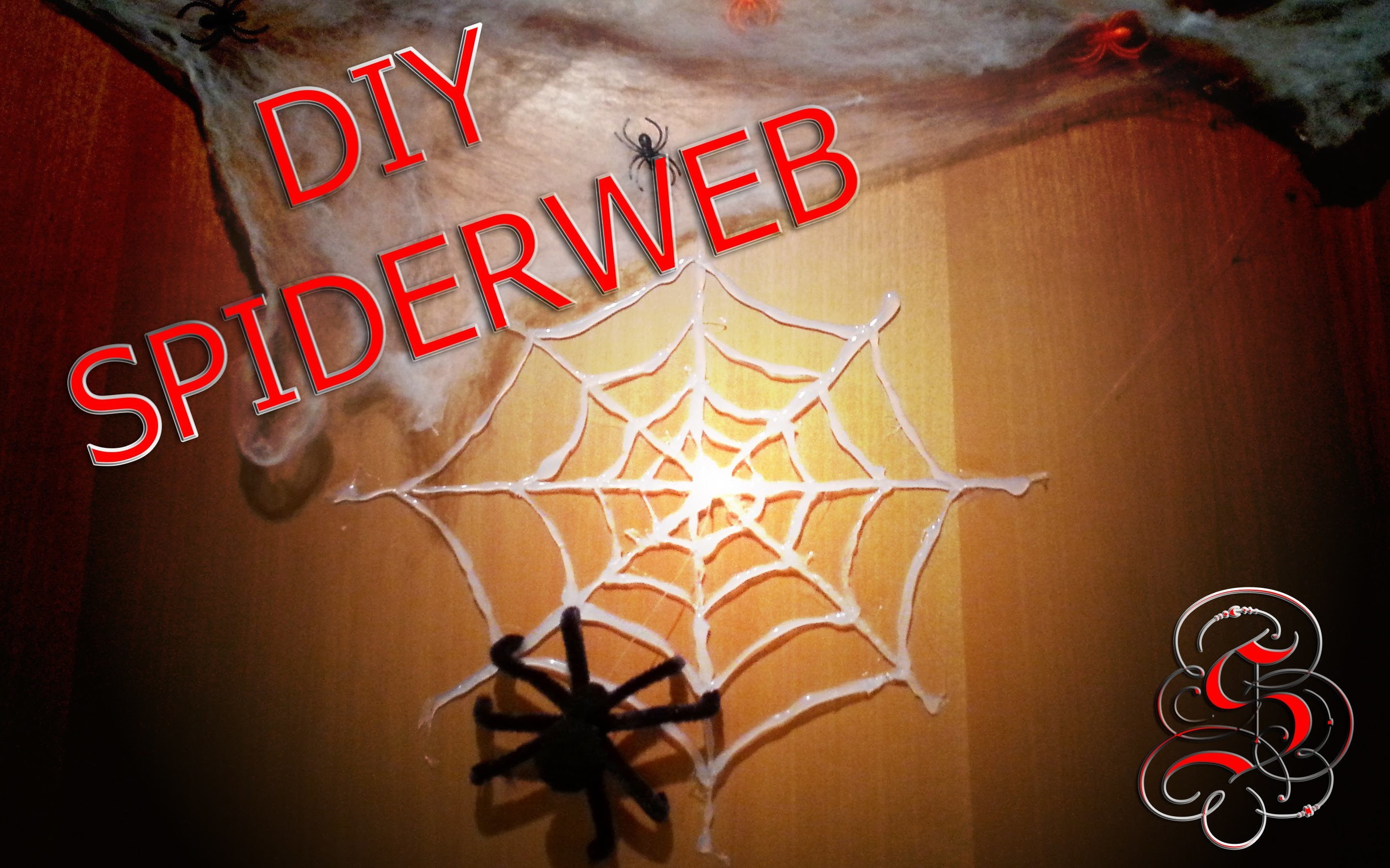 DIY - Tutorial Halloween RAGNATELA (SPIDERWEB) | Serendipità