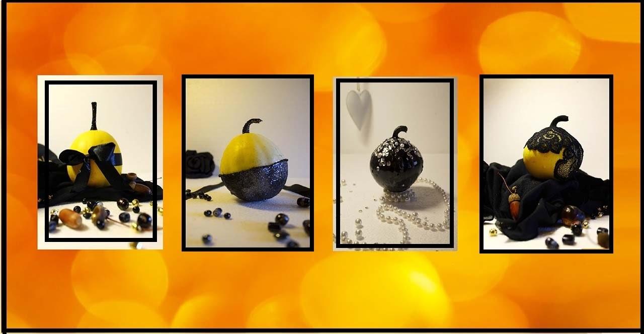 DIY: Come decorare delle zucche • Halloween pumpkins• Home decor