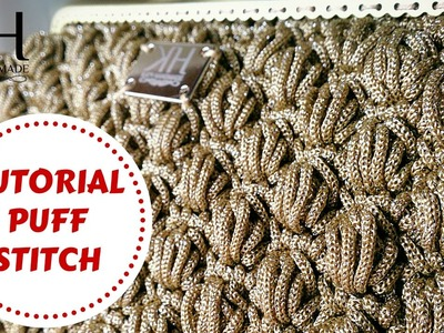 ★ [Tutorial uncinetto #18] Puff stitch | Crochet tutorial | Katy Handmade ★