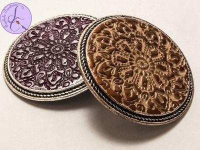 Tutorial: Texture e Pigmento su Fimo (texture polymer clay)