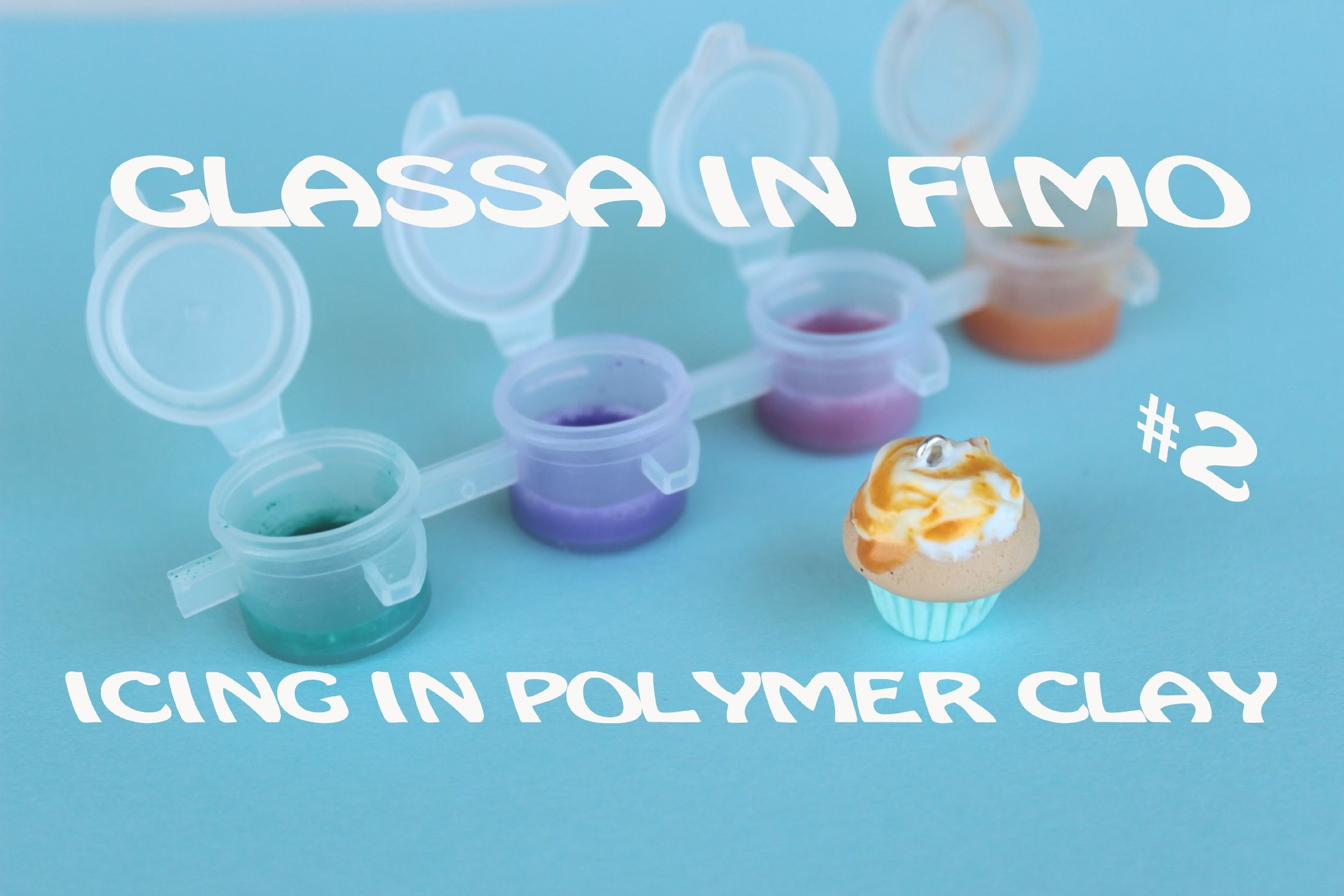 Glassa in Fimo | Icing in Polymer Clay #2