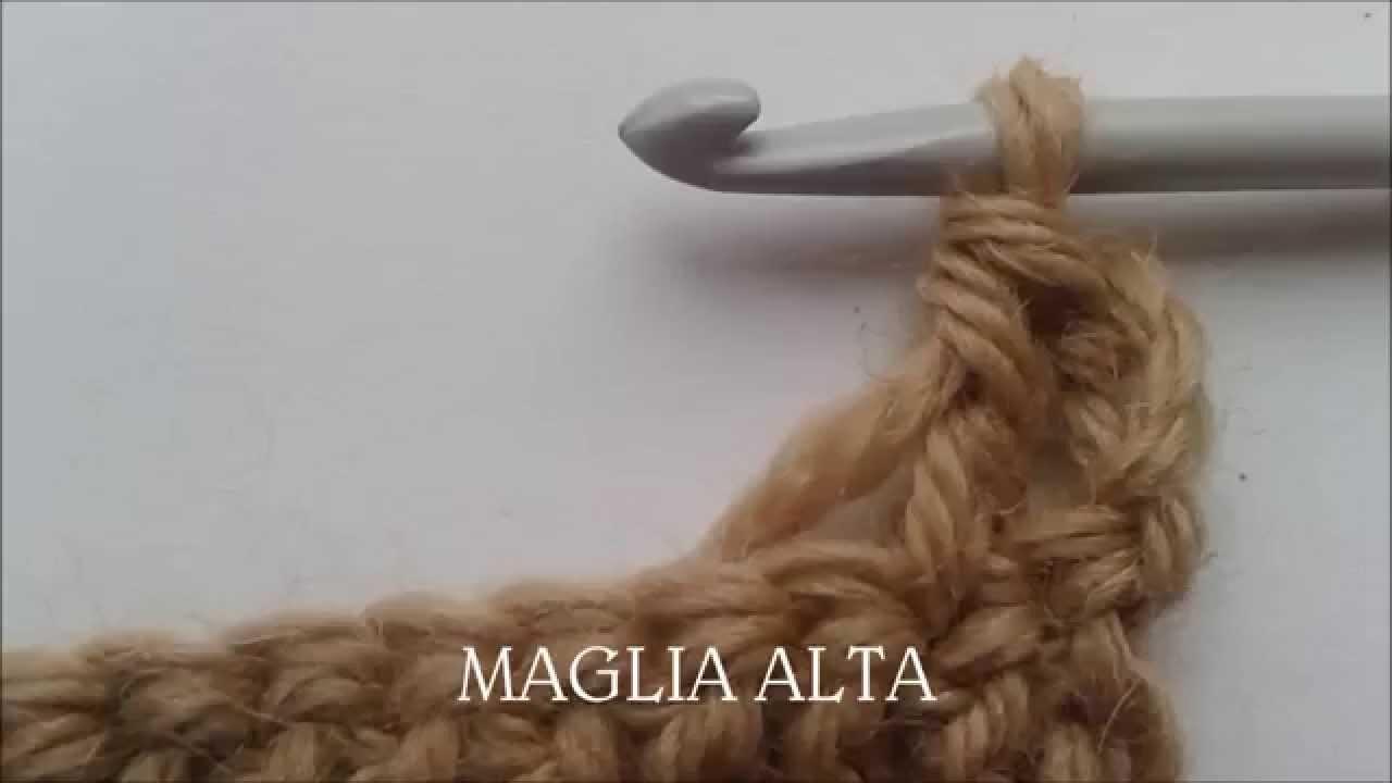 Tutorial uncinetto: la maglia alta