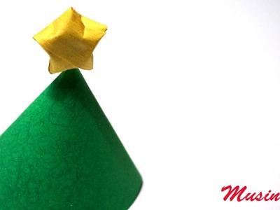 Come fare un segnaposto Albero di Natale   Tutorial Musinlove