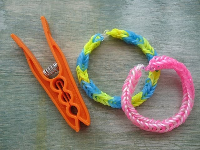 Rainbow Loom -  Braccialetti con elastici senza telaio