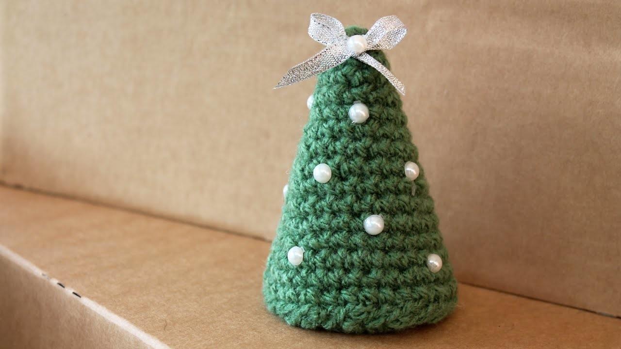 Albero di Natale all'uncinetto semplicissimo