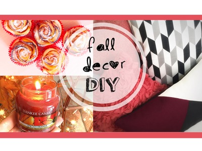 FALL DIY & DECOR: idee decoro per l'Autunno ♥