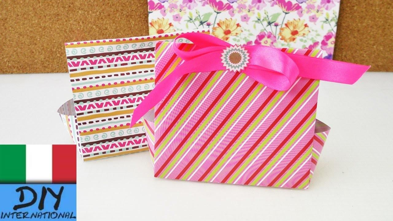 Scatole regalo fai da te per Calendario Avvento | Compleanno e Natale | origami