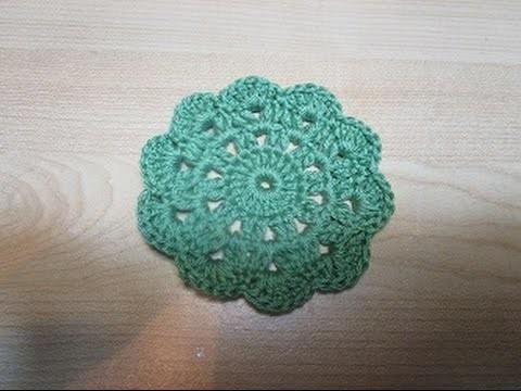 Uncinetto crochet sottobicchieri tutorial