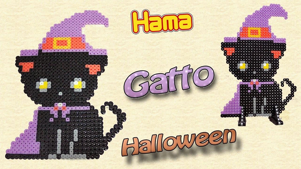 Gatto di Halloween con Hama Beads Black Cat (Halloween Series)