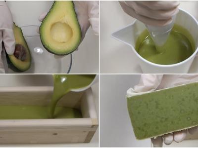 SAPONE NATURALE ALL'AVOCADO - DIY Natural Avocado Soap