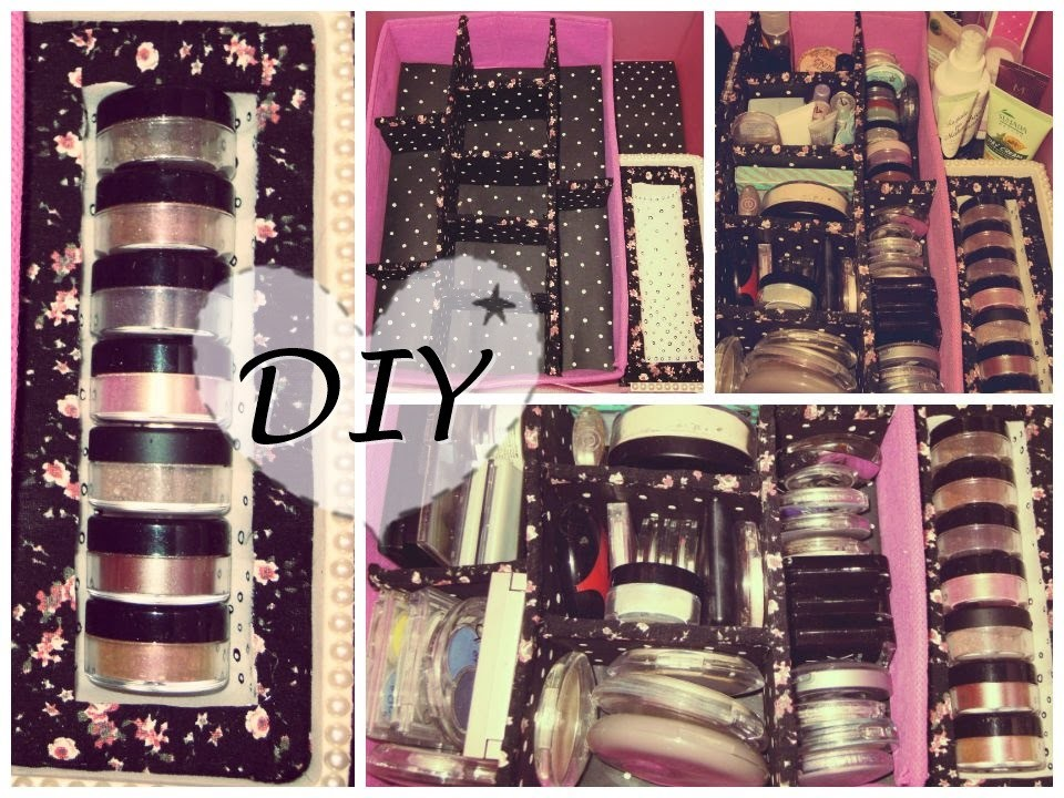 DIY: Makeup organizers |CherryBloomPink