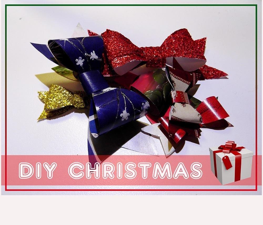 DIY: Come fare un Fiocco per Pacco Regalo - Natale fai da te