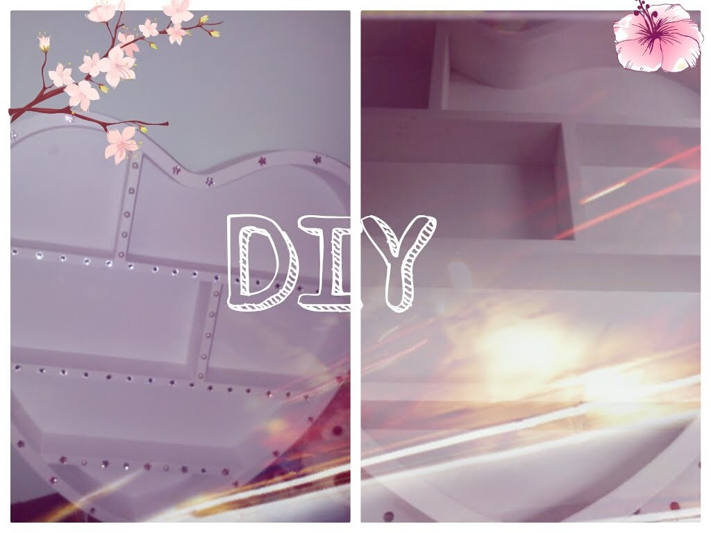 DIY Room Decor ☼ Come decorare una bacheca per gli smalti ☼