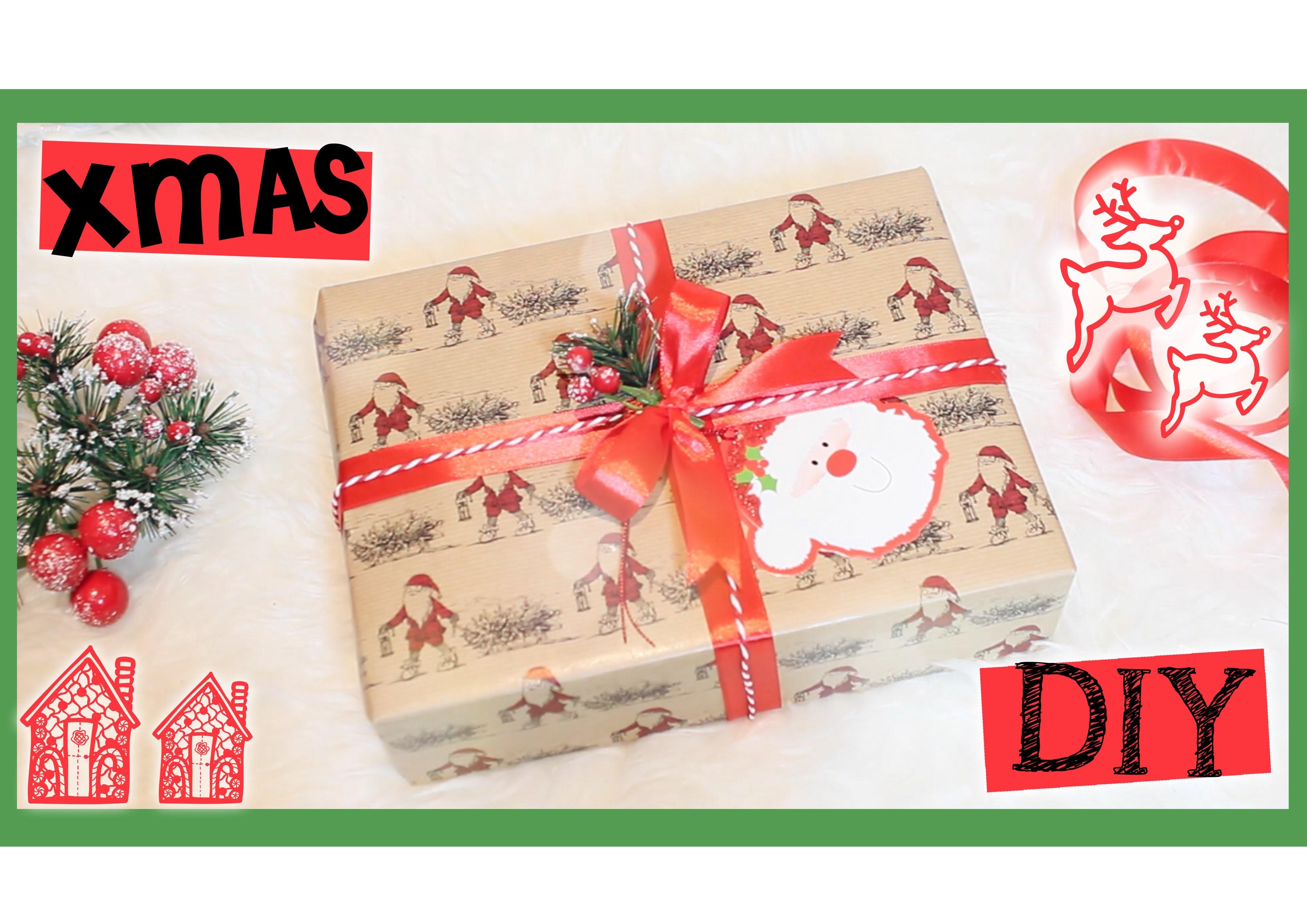 Xmas DIY: decoriamo i pacchetti regalo ♥