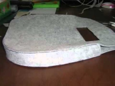 Feltro:tutorial borsa feltro e raso.