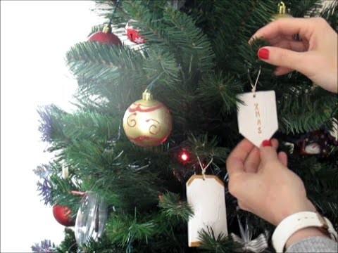 CHRISTMAS DIY #2 - Decorazioni natalizie con il Das
