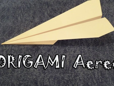 Origami facile, tutorial aereo di carta - how to make an easy paper airplane
