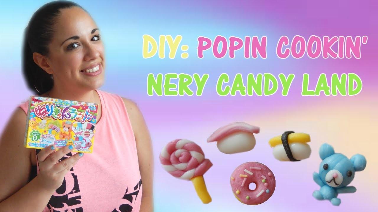 Popin Cookin Nery Candy Land (DIY ita) JAPAN CANDY BOX