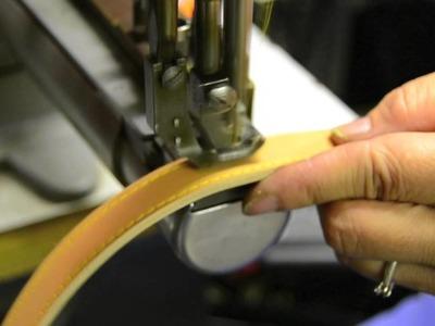 Realizzazione artigianale: tracolla per borsa