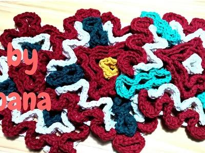Wiggly crochet presina